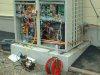 業務用エアコン 室外機の設置例 コンクリート基礎