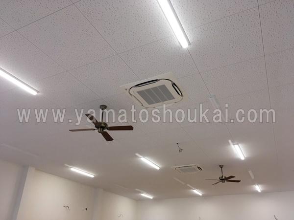 栃木のエアコン工事
